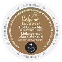 Café Escapes Milk Chocolate Hot Cocoa Single-Serve K-Cup Pods