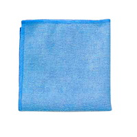 Chiffons en microfibre pour travaux légers Rubbermaid Commercial, 12po x 12po, bleu, emb. de 24