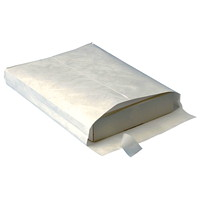 Survivor Brand by Quality Park DuPont Tyvek Self-Adhesive White Expandable Envelopes
