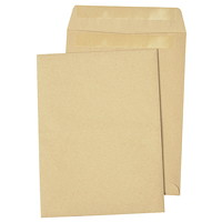 Quality Park Redi-Seal Self-Adhesive Natural Kraft Envelopes