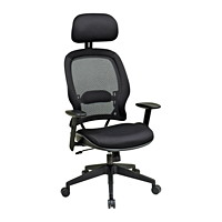 Office Star Space Air Grid Manager's Chair with Headrest
