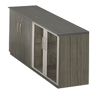 Mayline Medina Low Wall Cabinet With Doors