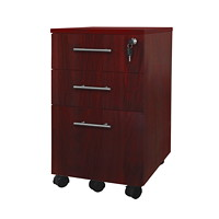 Mayline Medina Mobile Box/Box/File Pedestal