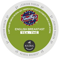 Timothy's English Breakfast Tea K-Cup Pods, Single-Serve, Box of 24