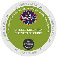 Timothy's Chinese Green Tea K-Cup Pods, Single-Serve, Box of 24