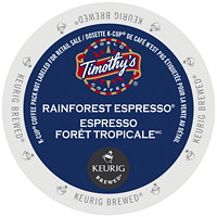 Timothy's Rainforest Espresso Blend K-Cup Coffee Pods