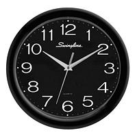 Swingline Fashion Clock, Black