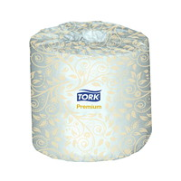 Tork 2-Ply Premium Standard Bathroom Tissue, White, 460 Sheets/RL, 48/CS