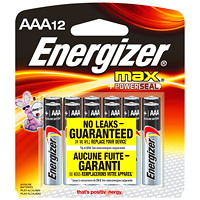 Energizer Max Battery Bulk Packs