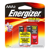 Piles AAA Energizer Max