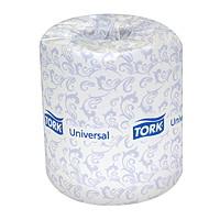 Papier hygiénique blanc en rouleau 2 épaisseurs Universal Tork
