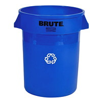 Rubbermaid Commercial Brute Vented 20-Gallon Container, Blue