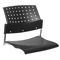Global Sonic Poly Seat and Back