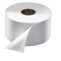 Tork 2-Ply Advanced Mini Jumbo Bathroom Tissue, White, 751', 12/CT