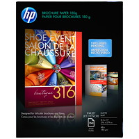 Papier mat pour impression à jet d'encre de brochures HP