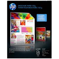 Papier laser glacé pour brochures HP