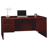 Bush Northfield Double Pedestal Desk