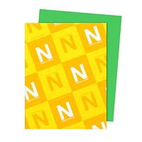 Papier Astrobrights Neenah, vert gamma, format lettre, certifié FSC et Green Seal, 24lb, rame