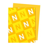 Neenah Astrobrights Galaxy Gold Paper, Letter-Size, FSC And Green Seal Certified, 24 lb., Ream