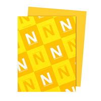 Papier Astrobrights Neenah, or galaxie, format lettre, certifié FSC et Green Seal, 24lb, rame