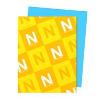 Papier Astrobrights Neenah, bleu lunaire, format lettre, certifié FSC et Green Seal, 24lb, rame