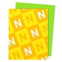 Papier Astrobrights Neenah, vert martien, format lettre, certifié FSC et Green Seal, 24lb, rame