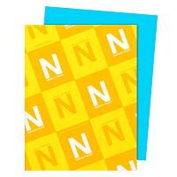 Papier Astrobrights Neenah, sarcelle terrestre, format lettre, certifié FSC et Green Seal, 24lb, rame