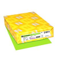 Papier couverture Astrobrights Neenah, couleur vert Martian Green, format lettre, certifié FSC et Green Seal, 65 lb, rame