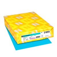 Papier couverture Astrobrights Neenah, couleur sarcelle Terrestrial Teal, format lettre, certifié FSC et Green Seal, 65 lb, rame