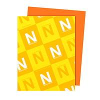 Papier Astrobrights Neenah, orange cosmique, format lettre, certifié FSC et Green Seal, 24lb, rame