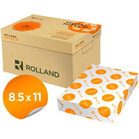 Rolland Hitech Laser Cover Paper, White, Letter Size, Ream