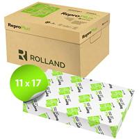 Papier recyclé ReproPlus Rolland, blanc, format tabloïde, rame