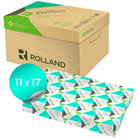 Rolland Enviro Copy Paper, White, Tabloid Size, Ream