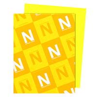 Papier Astrobrights Neenah, citron Lift-off, format lettre, certifié FSC et Green Seal, 24lb, rame