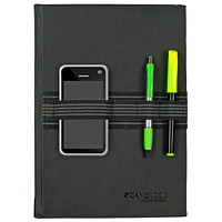 Cambridge Tech Bungee Business Notebook