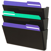 Deflecto Sustainable DockPocket Letter-Size File Pocket