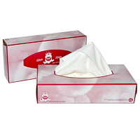 Dura Plus 2-Ply Luxury Facial Tissue, White, 100 Sheets/BX, 30/CT