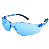 Dentec Sentinel Safety Glasses, With Blue Mirror Lens