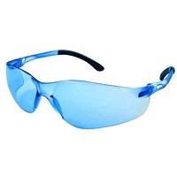Lunettes de sécurité Sentinel Dentec, avec verres bleus