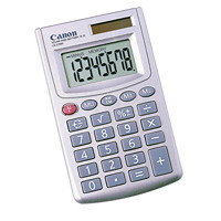 Canon Compact Handheld 8-Digit LCD Calculator