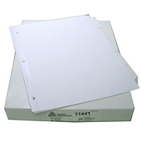 Avery Index Maker White Dividers with Easy Apply Clear Labels and White Tabs