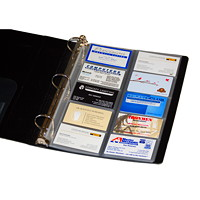 VLB Business Card Holder Sheets