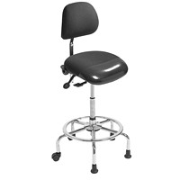 ergoCentric 3-in-1 Sit Stand Stool, Black