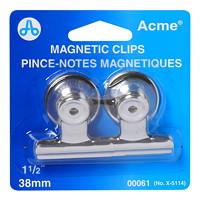 Westcott Magnetic Binder Clips