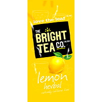 Flavia The Bright Tea Co. Single-Serve Lemon Herbal Tea Freshpacks