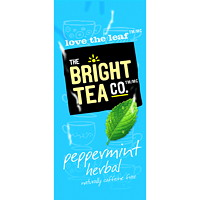 Flavia The Bright Tea Co. Single-Serve Peppermint Herbal Tea Freshpacks