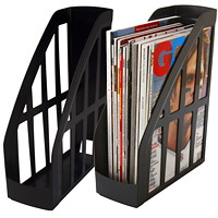 Storex Recycled Magazine Holder
