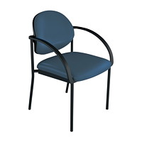 healtHcentric Pivot Back Guest Chair for Healthcare Environments