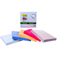 Post-it Super Sticky Recycled Notes In Bali Colour Collection