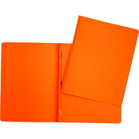 Hilroy 3-Prong Report Cover, Orange, Letter Size